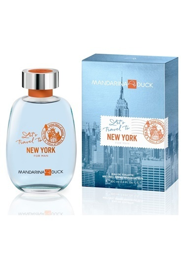 Mandarina Duck  Lets Travel To Ny Edt 100Ml Erkek Parfüm Renksiz